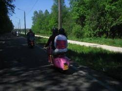 Pinkstertoer 11 Mei 011